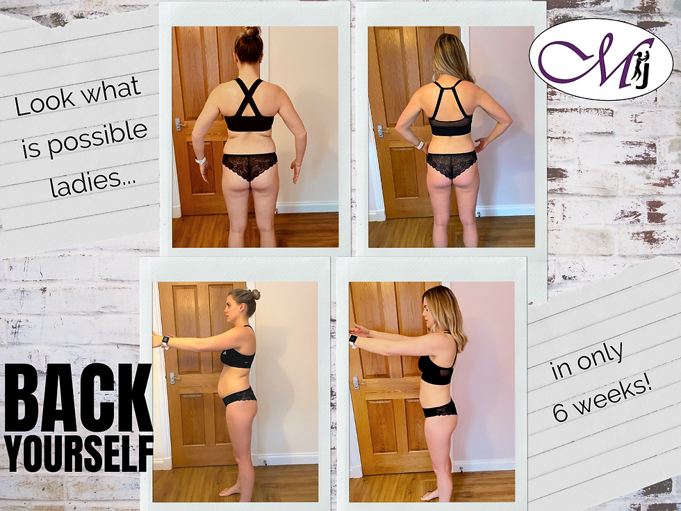 Back Yourself Before & Afters