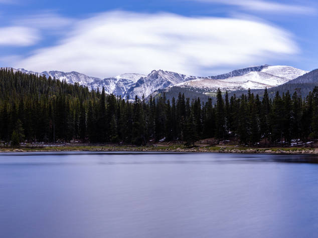 Mt Evans and Echo Lake