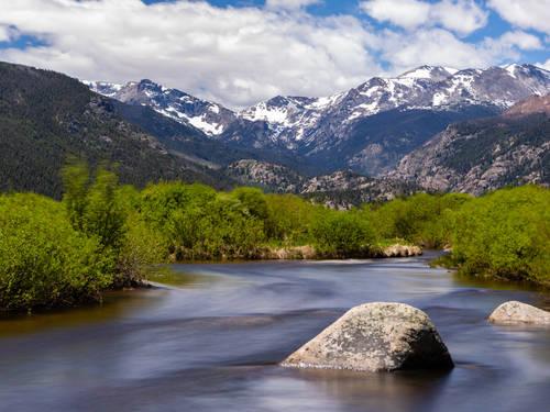 Moraine Park at Rocky Mountain National Park