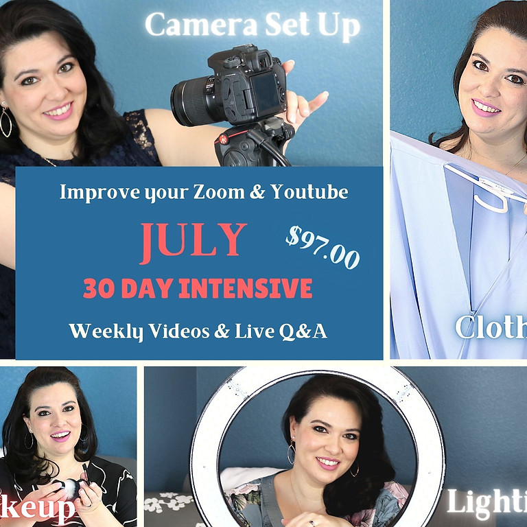 """July (Tues: 3pm """"MST) 30 Day Intensive (Echo Testers)"""