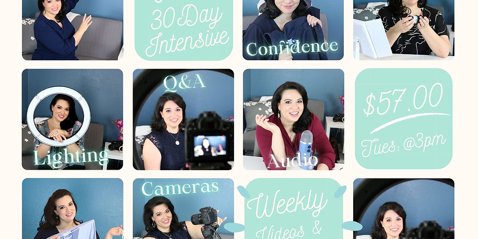 """June (Tues: 3pm """"MST) 30 Day Intensive (Beta Testers)"""
