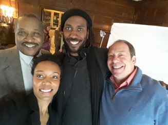 HBO's Native Son (on set)