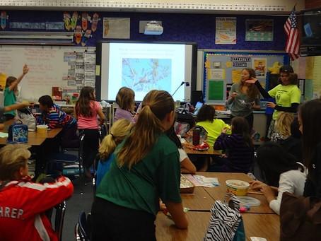 CLASSROOM PRESENTATIONS HELP SUPPLEMENT ENVIRONMENTAL EDUCATION AT LOCAL SCHOOLS