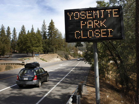 GOVERNMENT SHUTDOWN— JOSHUA TREE, GRAND CANYON AND OUR JOURNEY THROUGH YOSEMITE NATIONAL PARK