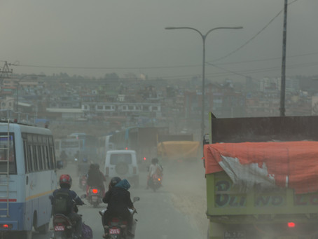 BREATHING TOXIC SMOG IN THE WORLD'S MOST POLLUTED PLACES IS LIKE SMOKING 50 CIGARETTES A DAY!
