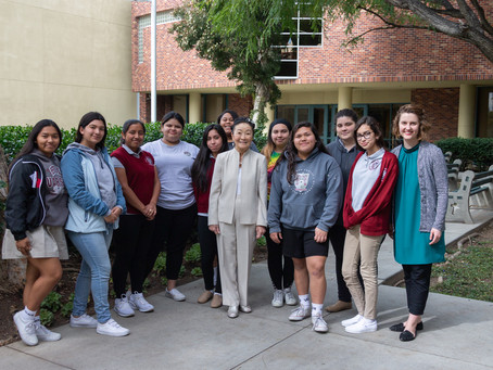 Marilyn Fordney – Honored Guest at Bishop Conaty-Our Lady of Loretto High School
