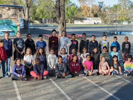 Visit to Woodlake Elementary Community Charter Ballroom Dance Class