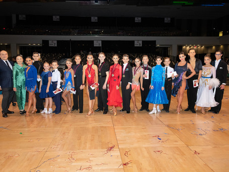 Fordney Foundation Junior and Youth Dance Awards – Ohio Star Ball 2019