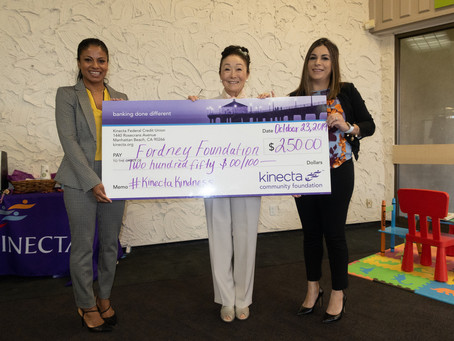 Fordney Foundation Wins Kinecta Kindness Award