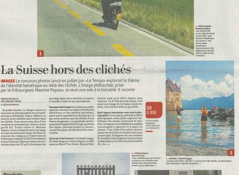 """Concours """"la Suisse hors des clichés"""""""