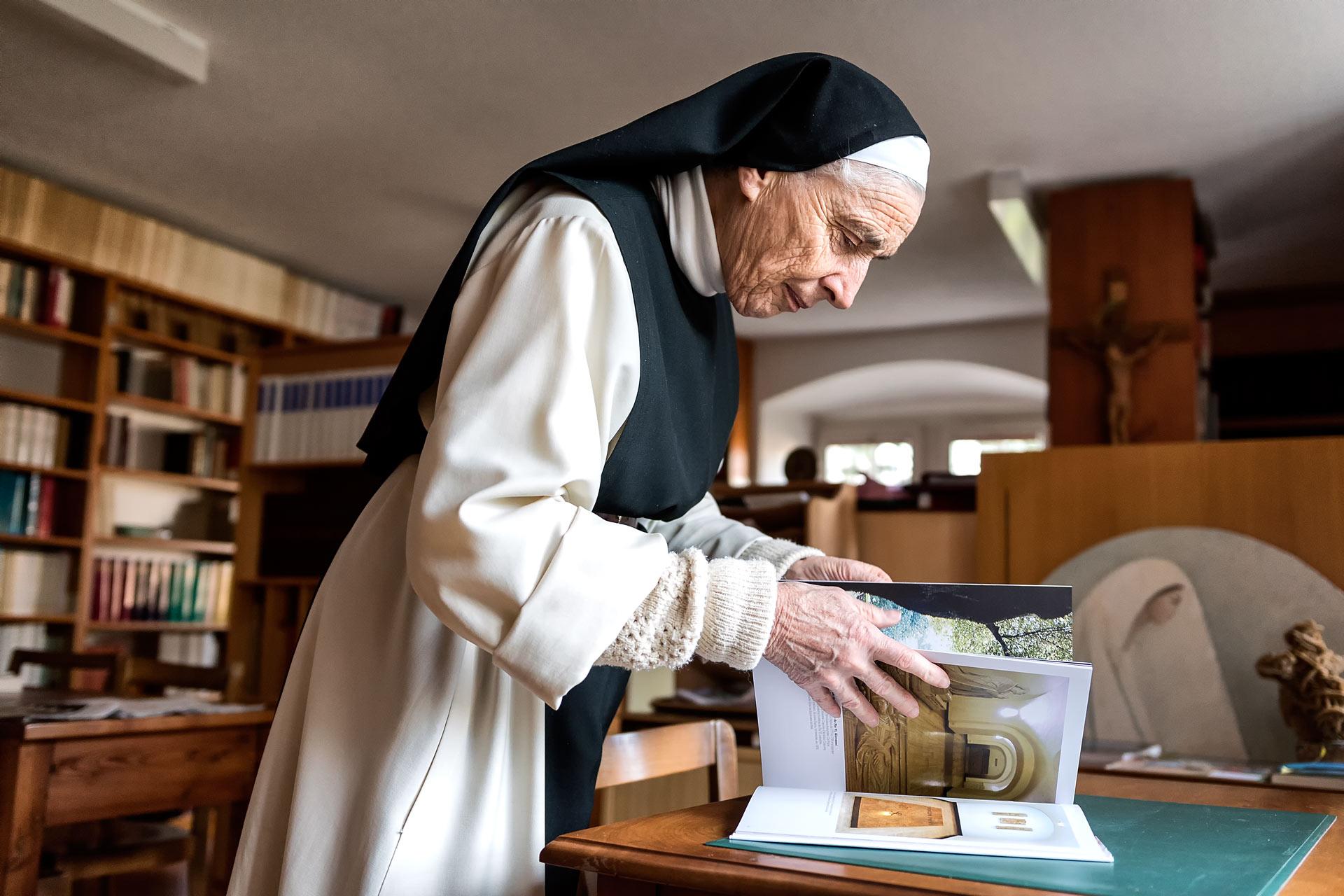 Vie quotidienne monastère de Géronde