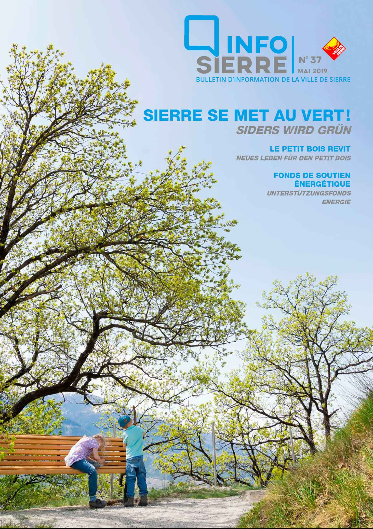 Couverture InfoSierre mai 2019
