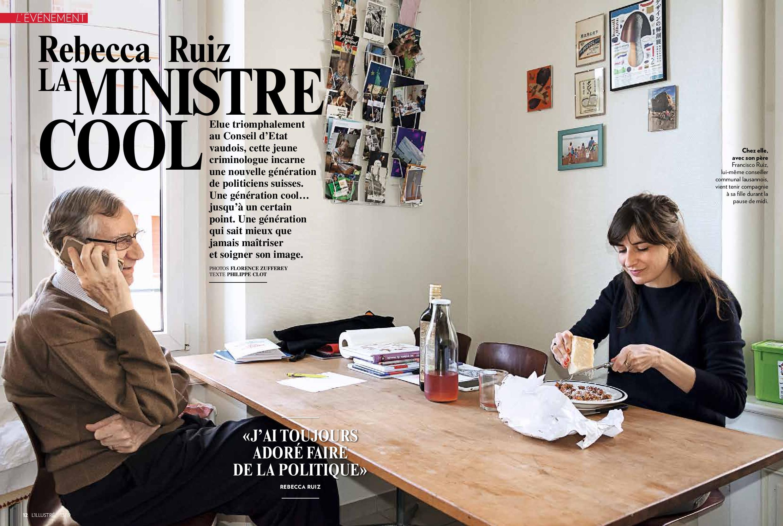 Rebecca Ruiz pour l'Illustré