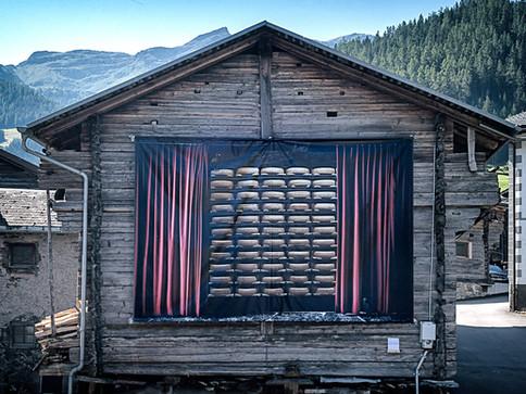 Installation à Bruson - août 2019