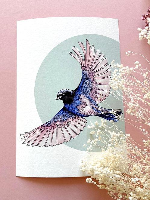 Mini Pastel Bird 2
