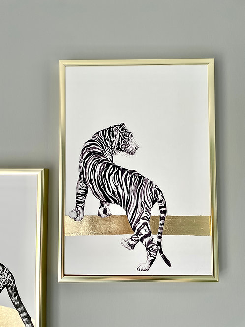 Wild Cats - Gold leaf edition - Tiger
