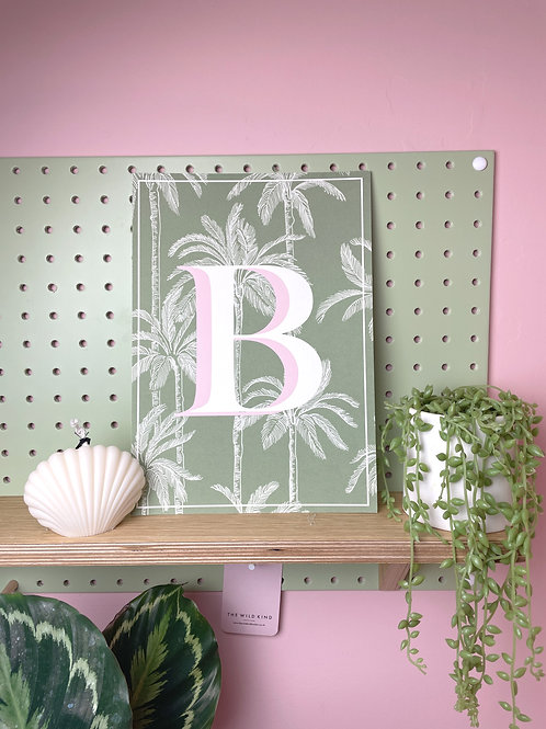 Tropical Letter 'B'