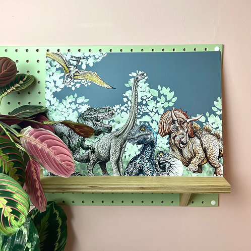 Jurassic Landscape Print