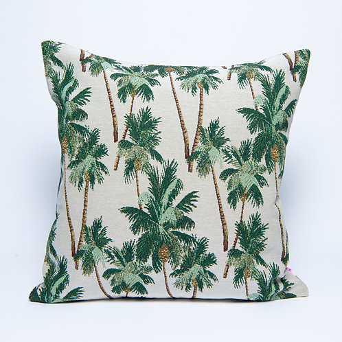 Palm Jacquard Cushion