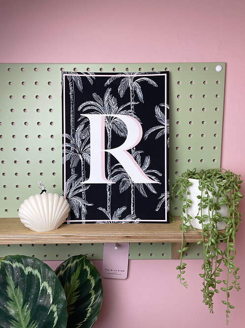 Tropical Letter 'R'