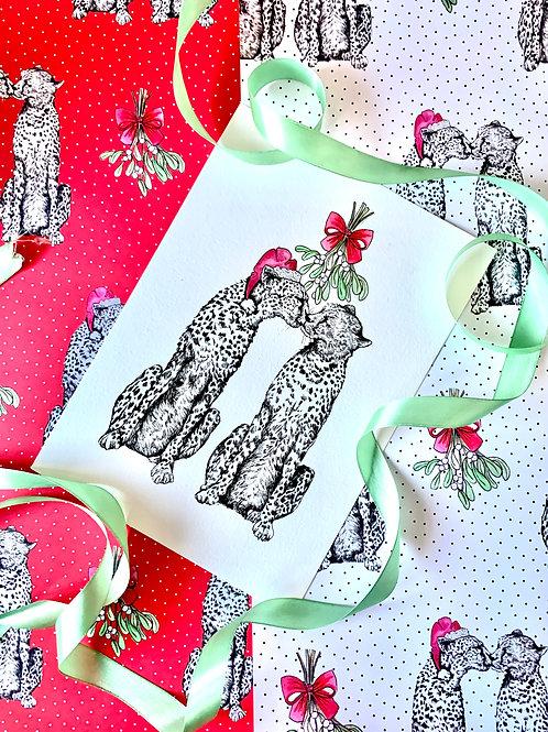 Merry Kissmas Print