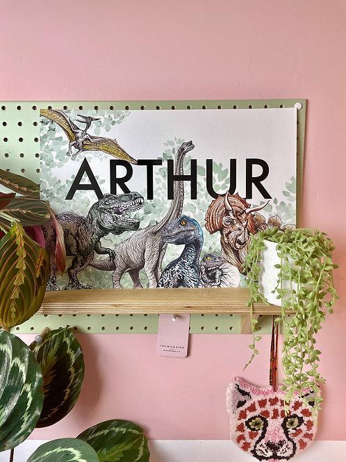 'Arthur' Jurassic Landscape Print