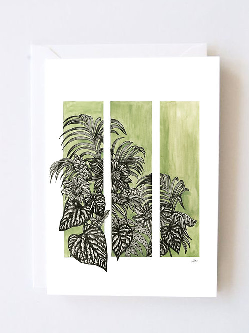 Palm House Print