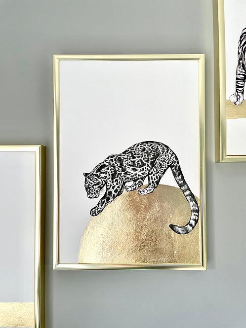 Wild Cats - Gold leaf edition - Jaguar
