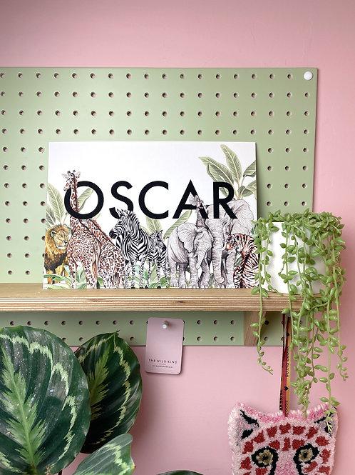 Safari Print - Oscar
