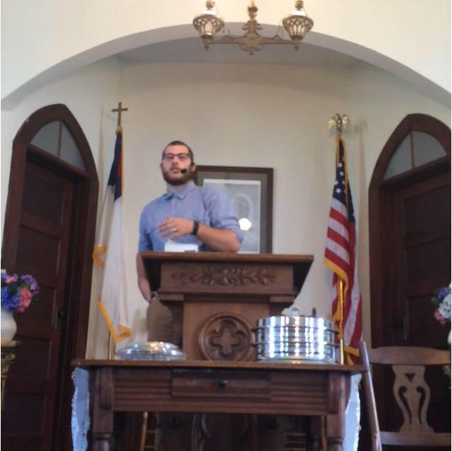 preaching boy