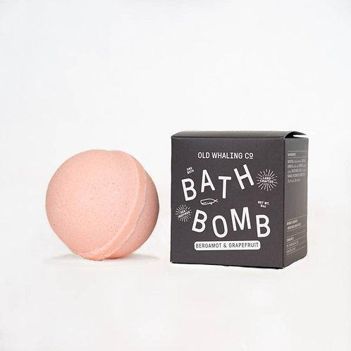 Bergamot and Grapefruit Bath Bomb