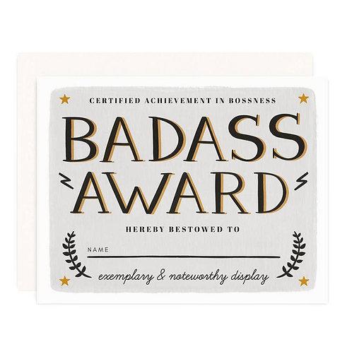 Badass Award