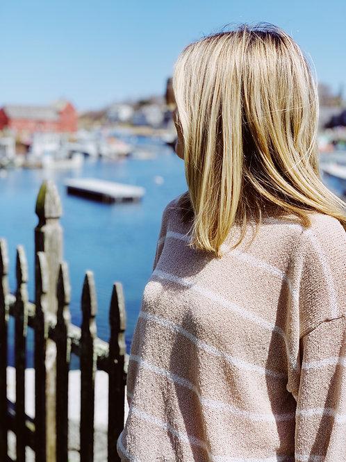 Motif Gazing Sweater