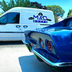 MAD Soaps Logo Vinyl Graphics