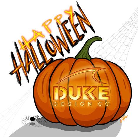 Happy Halloween from Duke Design Co