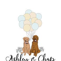 Wedding Celebration Digital Illustration
