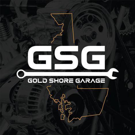 Gold Shore Garage Logo