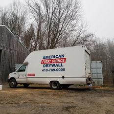 American First Choice Drywall Fleet Vehicles