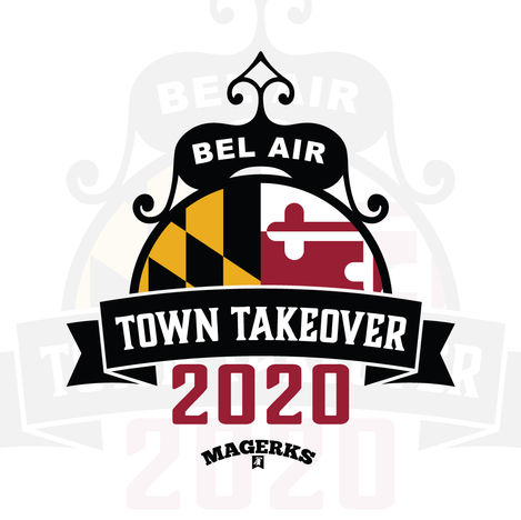 Magerks Town Takeover Logo