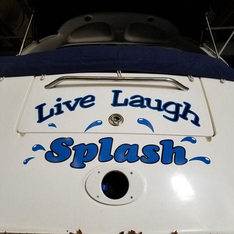 Live Laugh Splash