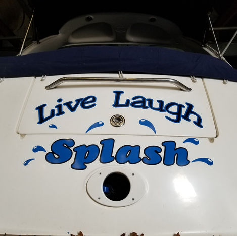 Live Laugh Splash