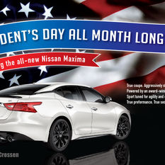 President's Day Car Sale Ad