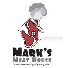 Mark's Meat House Logo
