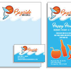 Bayside Bar & Grille Identity Package Concept