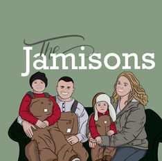 Family Digital Illustration