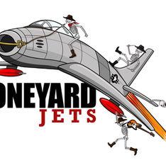 Boneyard Jets Digital Illustration