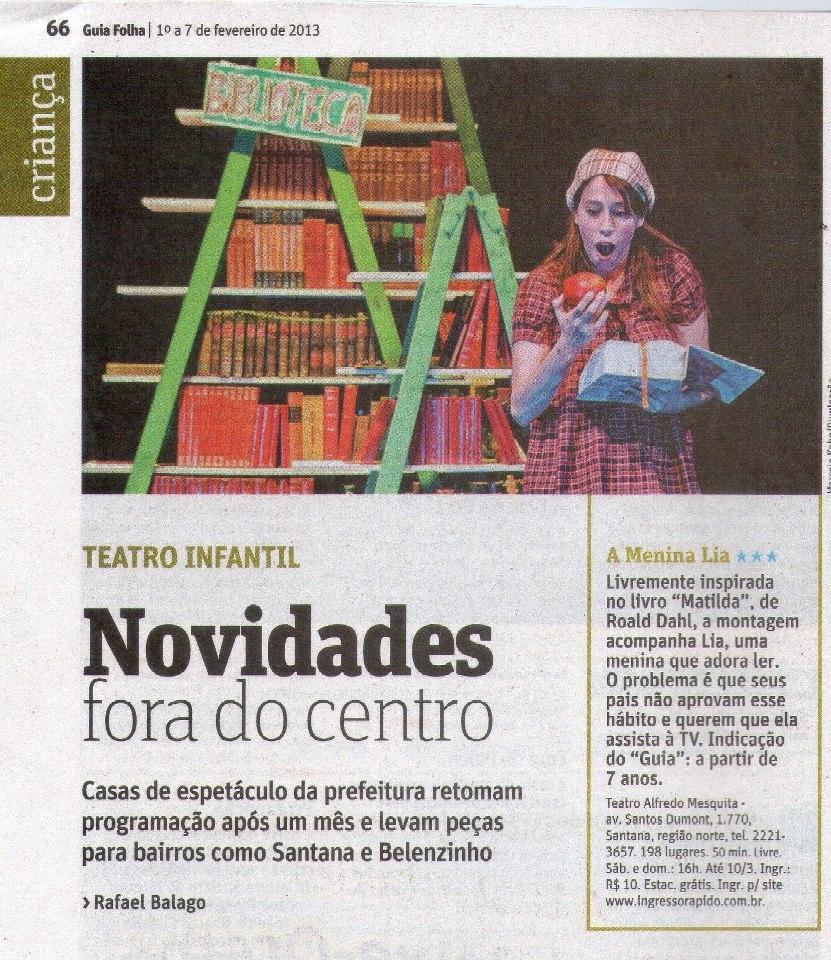 Guia da Folha FEV/2013