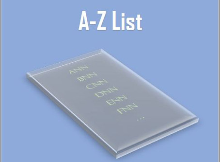 "My first book ""The Neural-Network A-Z List"" is in progress..."