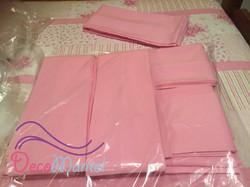 Lazo rosada niña