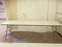 Mesa rectangular plegable 10a 12 P/P
